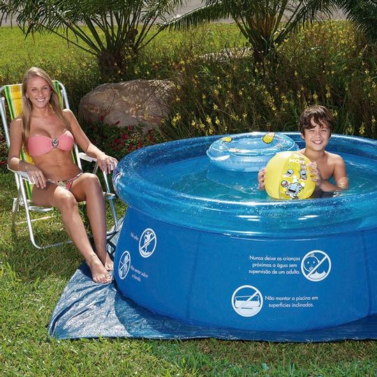 Piscina Splash Fun Mor 1,65m x 55cm 1000 Litros