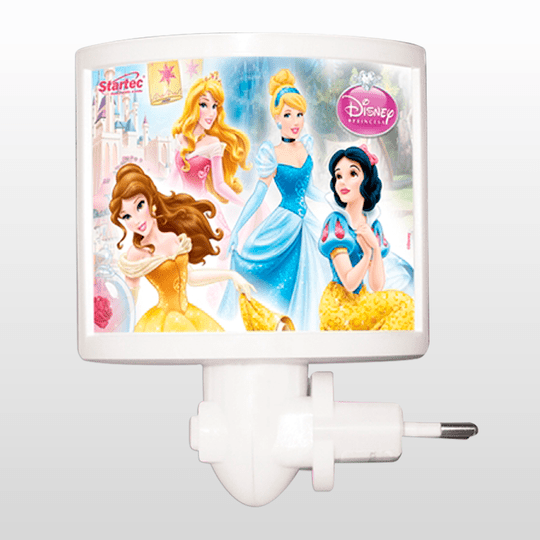 Mini Abajur Led Princesas Startec