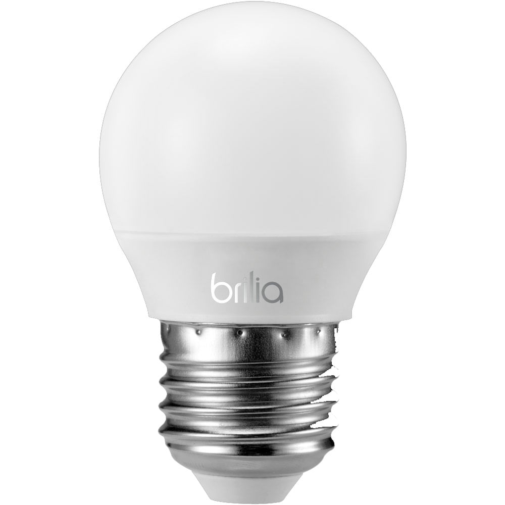 Lampada led mini globo e27 3w 2700k 434161 brilia r 40 for Lampada globo