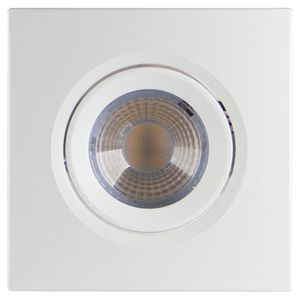 Spot Led Downlight Quadrado Mr11 3w Bivolt 6500k Brilia