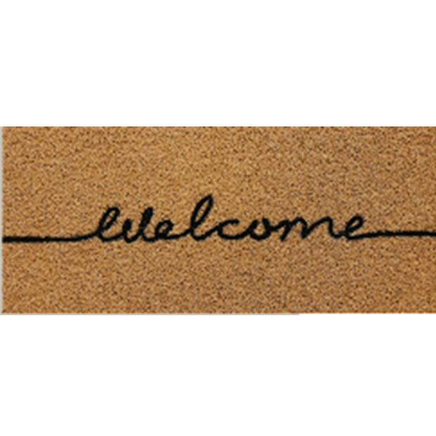 1779419---TAPETE-VINIL-LONG-WELCOME-40X60CM-KAPAZI