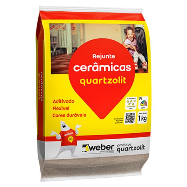 Rejunte Flexível Bege 5kg Color Weber